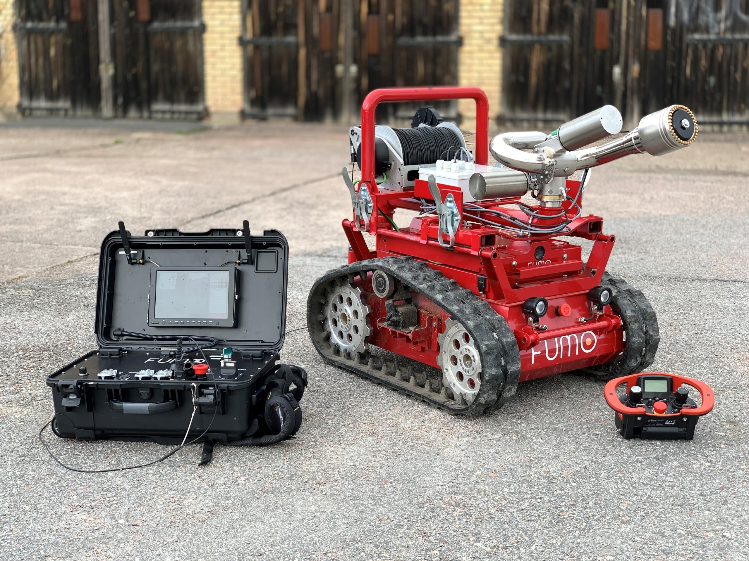 Fumo fire-fighter robot
