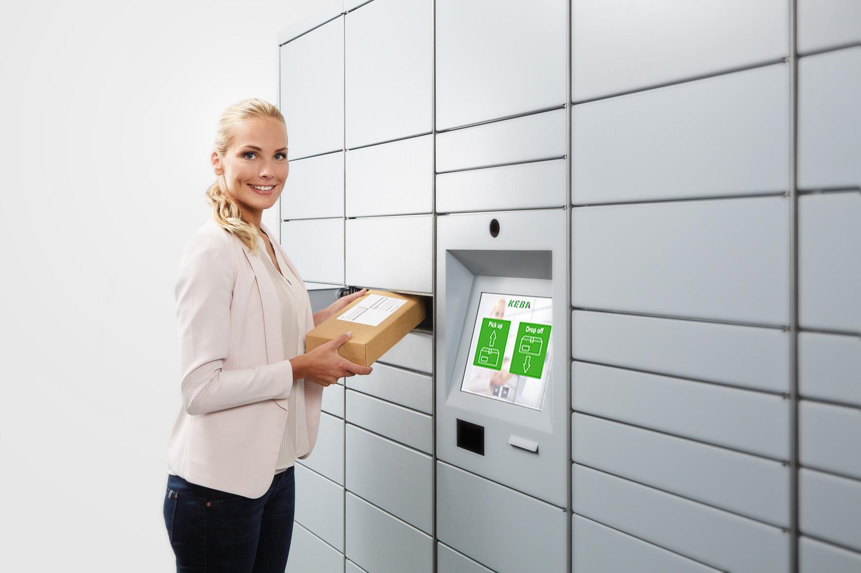 KEBA parcel automation solution
